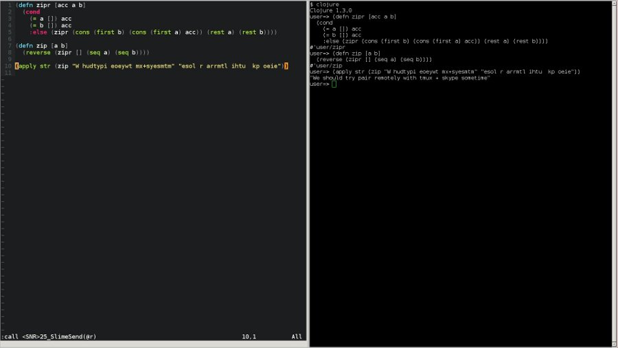 vim slime screenshot